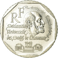 Monnaie, France, René Cassin, 2 Francs, 1998, SUP, Nickel, Gadoury:551, KM:1213 - France