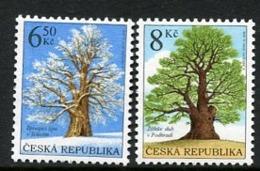CZECH REPUBLIC 2004 Protected Trees MNH / **. Michel 410-11 - Tchéquie