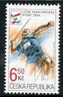 CZECH REPUBLIC 2004 Paralympic Games MNH / **. Michel 405 - República Checa