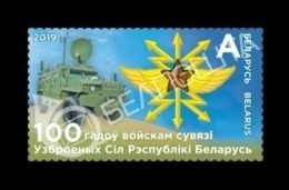 Belarus 2019 Mih. 1314 Signals Troops Of The Armed Forces Of Belarus. Automobiles MNH ** - Bielorussia