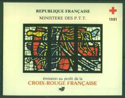 1981 - Vitraux De Fernand Léger - Eglise Du Sacré Coeur D'Audincourt - FRANCE - N° 2175-2176 ** - Carnet - Libretti