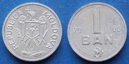 MOLDOVA - 1 Ban 2000 KM# 1 Republic Since 1991 - Edelweiss Coins - Moldavia