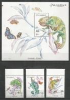 SOMALIA - MNH - Animals - Reptiles - Chameleons - Reptielen & Amfibieën