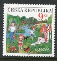 CZECH REPUBLIC 2004 Europa: Holidays MNH / **. Michel 395 - Tchéquie