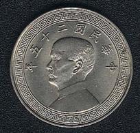 China, 10 Cents Jahr 25 (=1936), KM 349 - China