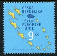 CZECH REPUBLIC 2004 Entry Into EU MNH / **. Michel 393 - Tchéquie