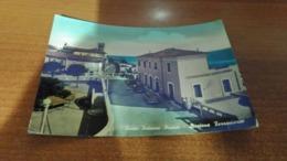 Cartolina: Porto Potenza Picena Stazione Ferroviaria Viaggiata (a43) - Postkaarten