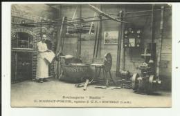 "77 - Seine Et Marne - Montereau - Boulangerie ""Rustic "" G.Biaudet - Fortin - - Montereau"
