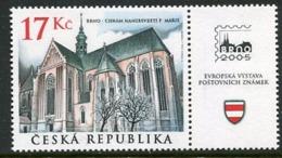 CZECH REPUBLIC 2004 Cistercian Monastery Church  MNH / **. Michel 389 - Czech Republic