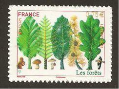 "FRANCIA// FRANCE  - EUROPA 2011 -TEMA ANUAL  "" BOSQUES"".- SERIE De 1 V.  AUTOCOLLANT  (AUTO-ADHESIVO) - 2011"