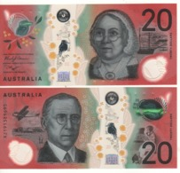 AUSTRALIA   Just Issued  New $ 20   POLIMER  (issued Sept 2019) - Emissions Gouvernementales Décimales 1966-...