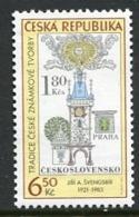 CZECH REPUBLIC 2004 Stamp Day  MNH / **. Michel 386 - Tschechische Republik