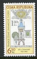 CZECH REPUBLIC 2004 Stamp Day  MNH / **. Michel 386 - Tchéquie