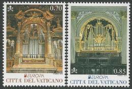 "VATICAN/ VATICANO - EUROPA- CEPT 2014-ANNUAL THEME "" NATIONAL  MUSIC  INSTRUMENTS""""- SET Of 2. - Europa-CEPT"
