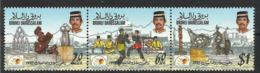 BRUNEI 1992 VISIT ASEAN SET MNH - Brunei (1984-...)