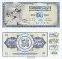 Jugoslawien Pick-Nr: 83c Bankfrisch 1968 50 Dinara - Jugoslawien