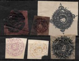 612 - AFGHANISTAN - 1871-76 - KABUL ISSUES - FORGERIES, FALSES, FALSCHEN, FAKES, FALSOS - Sammlungen (ohne Album)