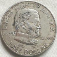 RÉPLICA Moneda General Ulysses S. Grant. ½ Dólar. 1922. Estados Unidos De América - Federal Issues