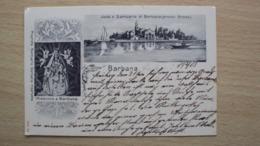 FRIULI VENEZIA GIULIA CARTOLINA DA BARBANA GRADO GORIZIA 1903 PRIMI 900 - Udine