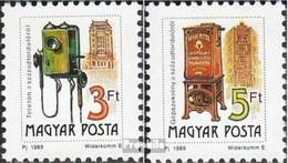 Ungarn 4067I A-4068I A (kompl.Ausg.) Postfrisch 1990 Postdienst - Ungebraucht