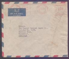 SUDAN Postal History Cover, Meter Franking Slogan Mark, Used 24.8.1966, Repaired As Seen - Soudan (1954-...)