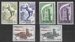 OCB Nr 969/70 Rik Wouters + 994/95 Europe Cept + 1030 + 1031 Zuidpool Antarctique Gerlache Dog Hond Chien MNH !! - Belgique