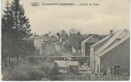 CULDESSARTS - REGNIOWEZ : L'Arrêt Du Tram - RARE CPA - Cul-des-Sarts