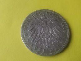 5 Mark 1907 - 2, 3 & 5 Mark Silver