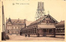 Feluy - La Gare Et La Poste (animée, Edit. Maison Luypaerts-Lekime) - Seneffe