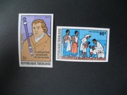 Timbre ND Non Dentelé Neuf ** MNH - Imperf  Santé Maladies  Eradication Mondiale De La Variole  Togo  N°  912  PA 337 - Disease
