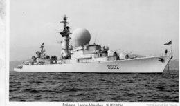 'Suffren' - Marine Nationale Francaise  -  Frégate Lance-Missiles  -   Marius Bar Carte Postale - Guerre
