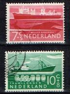 PAYS-BAS /Oblitérés/Used/1957 - Au Profit Des Oeuvres De Bienfaisance/Navires - Period 1949-1980 (Juliana)