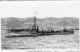 'Enseigne Roux' - Marine Nationale Francaise  -  Torpilieur 1912  -   Marius Bar Carte Postale - Oorlog