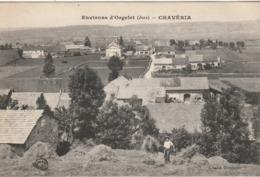 CHAVERIA (Jura) Très Rare Environs D'Orgelet - Other Municipalities