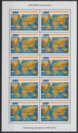 Sierra Leone 2019 Mi. ? Mini-sheet Kleinbogen Joint Issue 20e Anniversaire EMS 20 Years Emission Commune E.M.S. UPU - Joint Issues