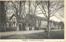 Vintaga Postkaart. Neerharen. Lindenhof. Gemeentehuis En Zusterschool - Lanaken