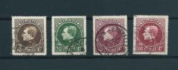 [2813] Zegels 289 - 292 Gestempeld - 1929-1941 Grand Montenez