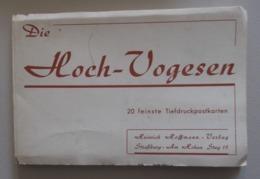 CARNET ACCORDEON  HOCH VOGESEN 20 Cartes Postales Anciennes - Non Classés