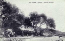 CORSE - AJACCIO - VUE ANIMEE DE LA GROTTE DU CASONE - Ajaccio