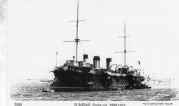 'D'Assas' - Marine Nationale Francaise  -  Cuirassé 1896-1910  -   Marius Bar Carte Postale - Guerre
