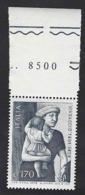 """Italia 1978; Tommaso Guidi Detto """"Masaccio"""", Anniversario Morte; Bordo Superiore Con Il Prezzo Del Foglio. - 6. 1946-.. Republic"""
