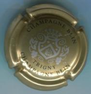 CAPSULE-CHAMPAGNE BLIN R. & FILS N°23 Or Argent & Noir - Autres