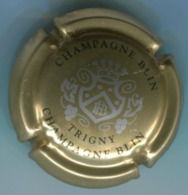CAPSULE-CHAMPAGNE BLIN R. & FILS N°23 Or Argent & Noir - Altri