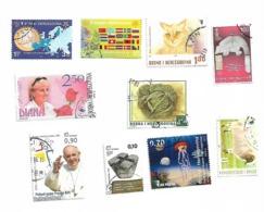 Bosnia LOT 10 Stamp - Bosnia Erzegovina