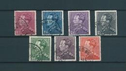 [2813] Zegels 429 - 435 Gestempeld - 1936-1951 Poortman