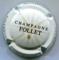 CAPSULE-CHAMPAGNE FOLLET N°01 Fond Blanc - Autres