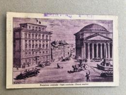 ROMA ALBERGO DEL SENATO PIAZZA DEL PANTHEON  1929 - Bar, Alberghi & Ristoranti