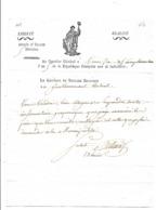 ARMEE D'ITALIE AN 5 GENERAL DE BRIGADE BELLIARD Belle Vignette - Documents Historiques
