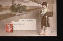 CPA//204..... UNE PENSEE DE REMIREMONT ...TRAIN - Unclassified