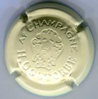 CAPSULE-CHAMPAGNE GOUTORBE H N°14 Estampée Crème - Autres